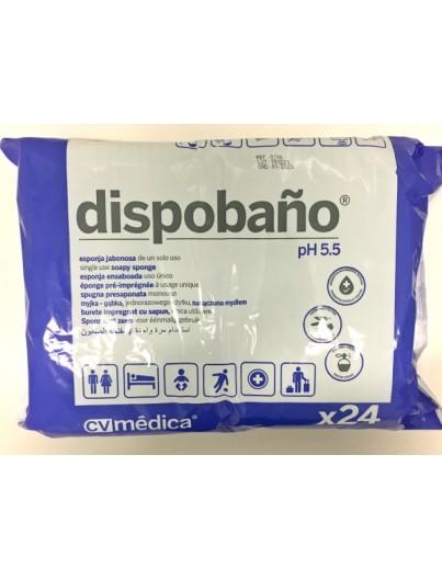 DISPOBAÑO ESPONJAS DESECHABLES 24 UNIDADES