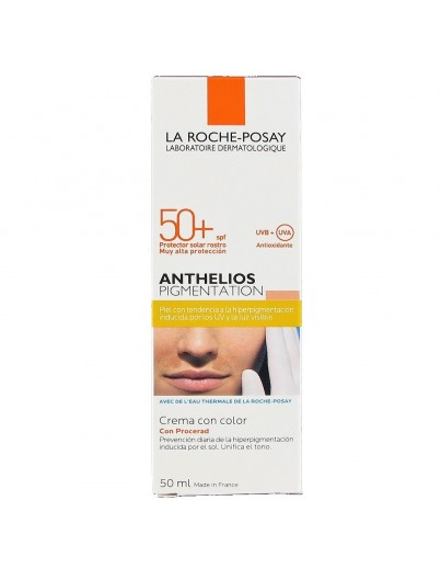 LA ROCHE POSAY ANTHELIOS PIGMENTATION CREMA CON COLOR SPF50+ 50 ML