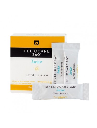 HELIOCARE 360º JUNIOR ORAL 20 STICKS