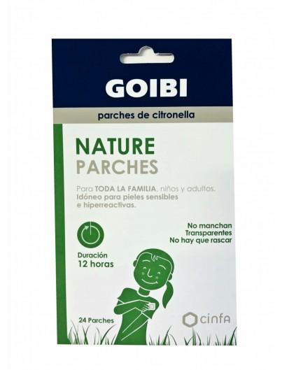 GOIBI NATURE PARCHES CITRONELLA 24 PARCHES
