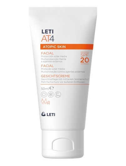 LETI AT4 ATOPIC SKIN CREMA FACIAL SPF20 50 ML