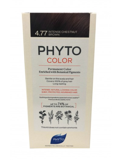 PHYTO PHYTOCOLOR TINTE 4.77 CASTAÑO MARRON INTENSO
