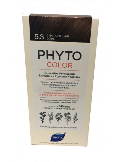 PHYTO PHYTOCOLOR TINTE 5.3 CASTAÑO CLARO DORADO