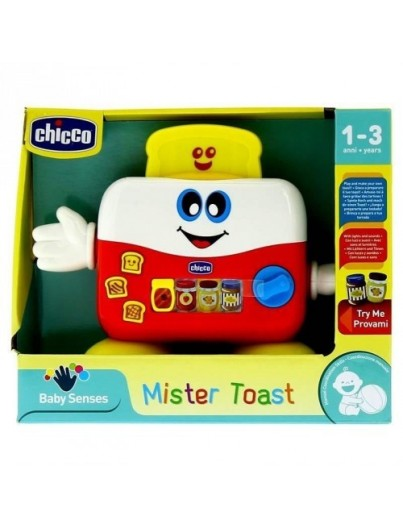 CHICCO JUGUETE TOSTADORA MR. TOAST