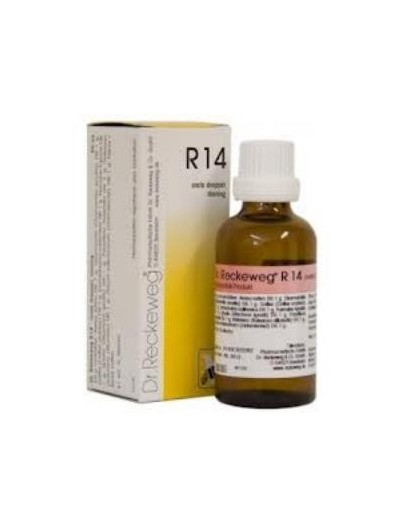DR. RECKEWG R 14 QUIETA GOTAS 50 ML