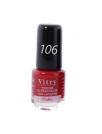 VITRY ESMALTE 4ML 106 RUBIS