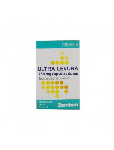 ULTRA LEVURA 250 MG 10 CAP