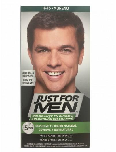JUST FOR MEN COLORANTE EN CHAMPÚ MORENO