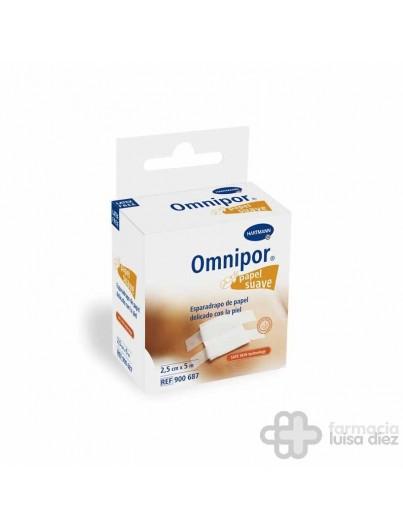 ESPARADRAPO OMNIPOR BLANCO PAPEL 5 X 2.5 CM
