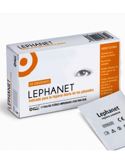 LEPHANET OCULAR 12 TOALLITAS ESTERILES