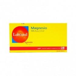 LABCATAL NUTRICION MAGNESIO 28 AMPOLLAS