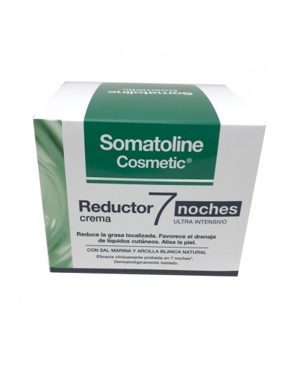 SOMATOLINE COSMETIC REDUCTOR ULTRA INTENSIVO 7 NOCHES 450 ML