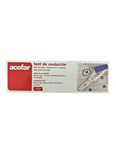 ACOFAR TEST OVULACION 7 UNIDADES