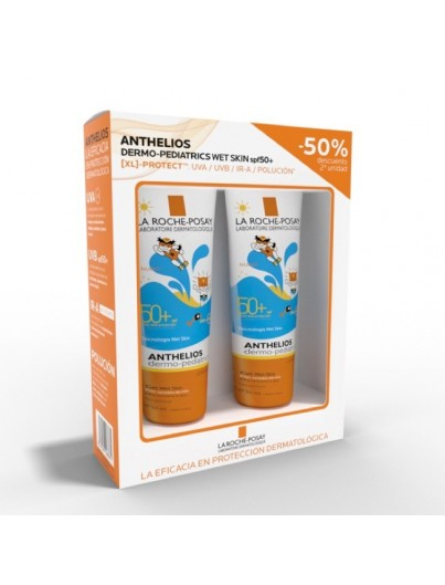 LA ROCHE POSAY ANTHELIOS SPF 50+ DERMOPEDIATRICS GEL WET SKIN 250 ML DUPLO