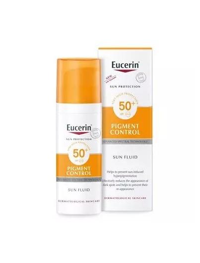 EUCERIN SUN PIGMENT CONTROL SUN FLUID SPF50+ 50 ML
