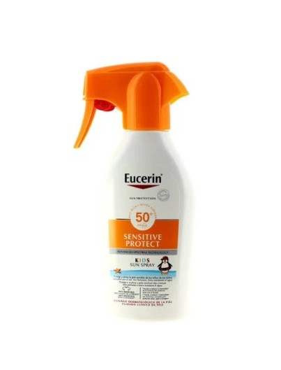 EUCERIN SUN PROTECTION 50+ SPRAY PISTOLA INFANTIL SENSITIVE PROTECT 300 ML
