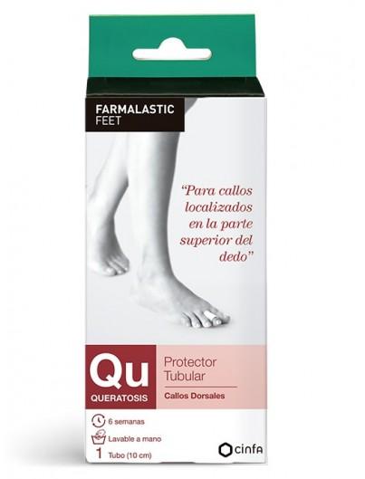 FARMALASTIC FEET QU QUERATOSIS PROTECTOR TUBULAR 1 TUBO 10 CM