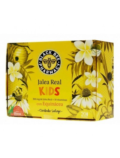 BLACK BEE PHARMACY JALEA REAL KIDS CON EQUINÁCEA 20 AMPOLLAS