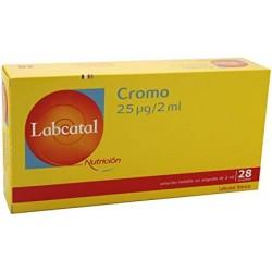 LABCATAL NUTRICION CROMO 28 AMPOLLAS