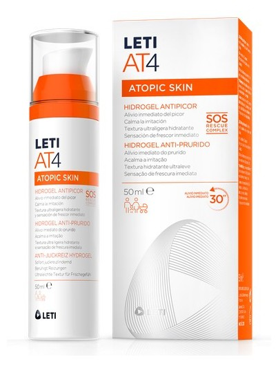 LETI AT4 ATOPIC SKIN HIDROGEL ANTIPICOR 50 ML