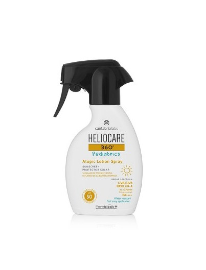 HELIOCARE 360ºPEDIATRICS ATOPIC LOTION SPRAY SPF50 250 ML
