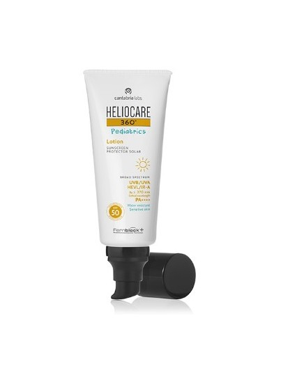 HELIOCARE 360º PEDIATRIACS LOTION SUNSCREEN PROTECTOR SOLAR SPF50 200 ML