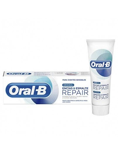 ORAL B ORIGINAL ENCIAS Y ESMALTE REPAIR 75 ML