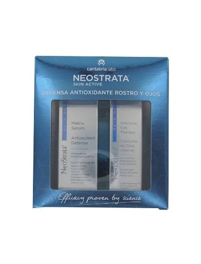 NEOSTRATA SKIN ACTIVE PACK SERUM MATRIX ANTIOXIDANTE 30 ML + NEOSTRATA EYE THERAPY CONTORNO DE OJOS INTENSE 15 ML