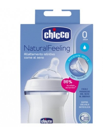 CHICCO BIBERON NATURAL FEELING 0M+ 150 ML