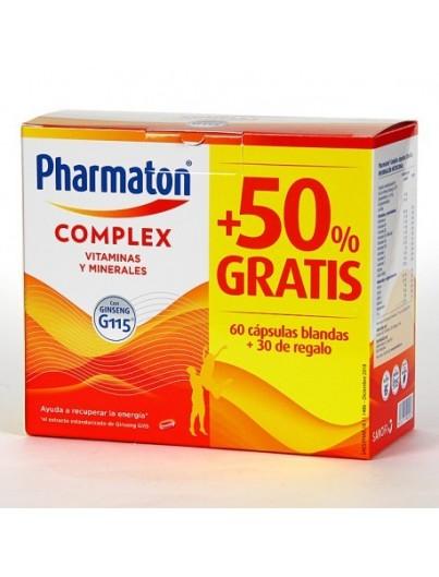 PHARMATON COMPLEX PACK 60 + 30 CAPSULAS DE REGALO