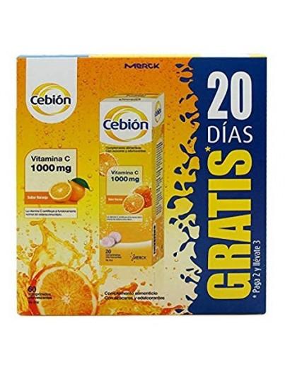 CEBION 60 COMPRIMIDOS (40 + 20 GRATIS)