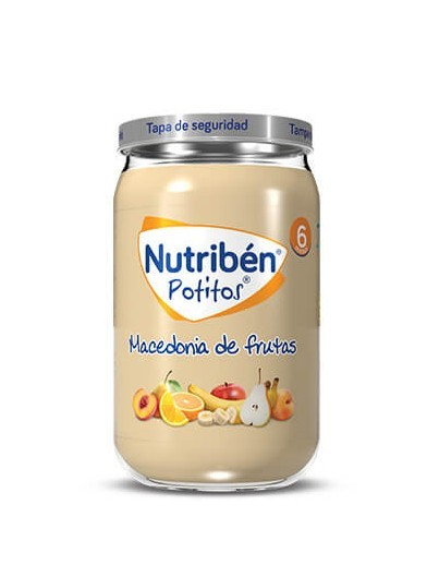NUTRIBEN POSTRE MACEDONIA DE FRUTAS POTITO GRANDOTE 250 G