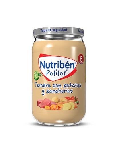 NUTRIBEN TERNERA CON PATATAS POTITO GRANDOTE 235 G