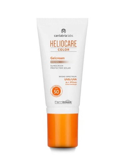 HELIOCARE COLOR SPF50 GEL CREMA COLOR BROWN 50 ML + CAMALEON MAGIC ROJO