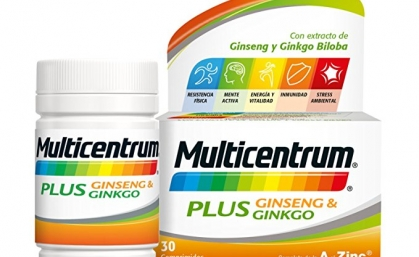 ¡Nuevo Multicentrum! Multicentrum Plus Ginseng & Gingko